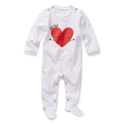 Okie Dokie Valentines Girls Sleep and Play - Baby