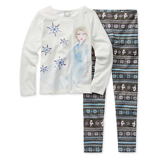 Disney Girls 2-pc. Frozen 2 Legging Set Preschool / Big Kid