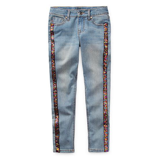 Vgold Little & Big Girls Skinny Skinny Fit Jean