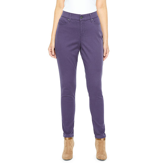 Gloria Vanderbilt Comfort Curvy Skinny Womens Mid Rise Skinny Fit Jean