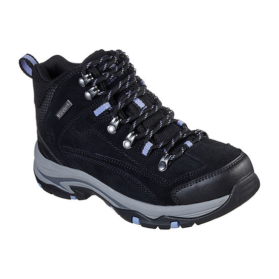 Skechers Womens Trego    Alpine Trail Hiking Boots Flat Heel