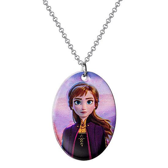"Disney Girls Frozen 2 Anna Pendant Necklace 16 + 2"" Chain"