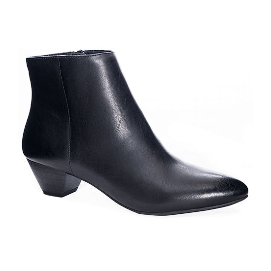 CL by Laundry Womens Block Heel Abrie Booties