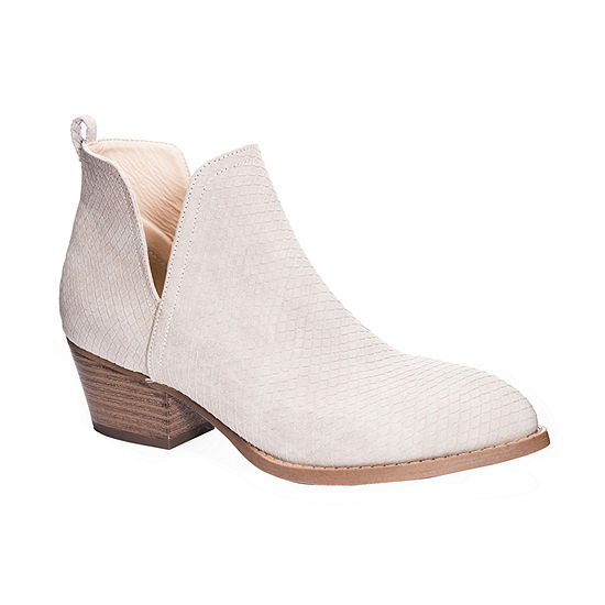 CL by Laundry Womens Block Heel Caring Booties