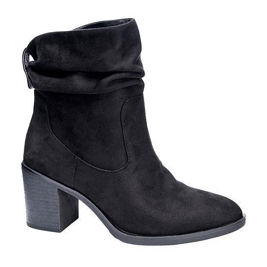 CL by Laundry Womens Kalie Block Heel Booties