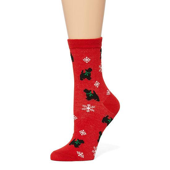 Legale 1 Pair Crew Socks Womens
