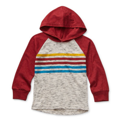Okie Dokie Toddler Boys Knit Hoodie