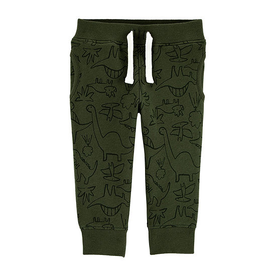 Carter's Baby Boys Cuffed Pull-On Pants