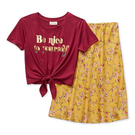 Self Esteem Big Girls 2-pc. Skirt Set