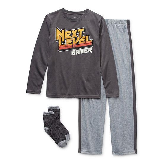 Arizona Little & Big Boys 2-pc. Pant Pajama Set