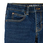 Arizona Flex Little & Big Boys Straight Stretch Relaxed Fit Jean