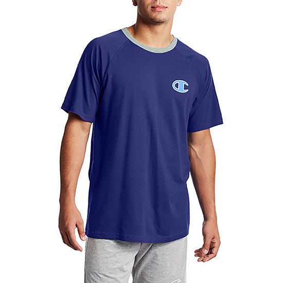 Champion Jersey Mens Pajama Top Short Sleeve