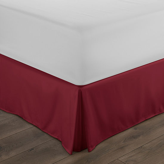 "Casual Comfort Luxury Pleated 14"" Hypoallergenic Wrinkle Resistant Bed Skirt"