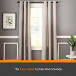 Kenney® Fast Fit™ Easy Install Finn Curtain Rod