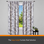 Kenney® Fast Fit™ Easy Install Lilly Cage Curtain Rod