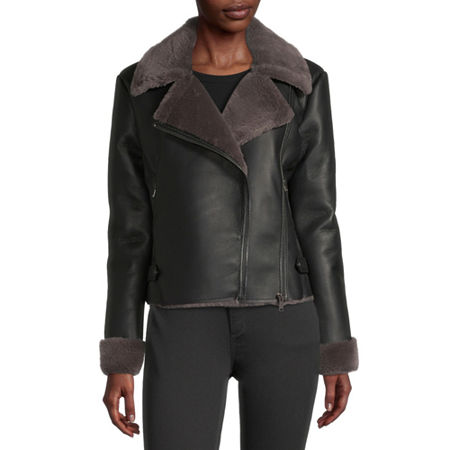 a.n.a Midweight Motorcycle Jacket, Xx-large , Black