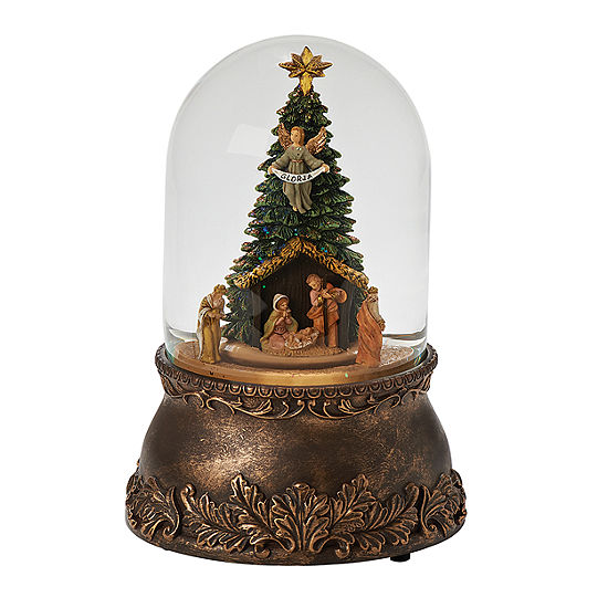 Fontanini Nativity Musical Glass Glitterdome