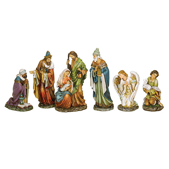 Joseph's Studio Angel Nativity 6 Piece Set
