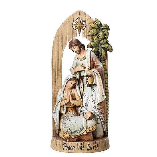 "Joseph's Studio 12"" Holy Family Nativity Figurine"
