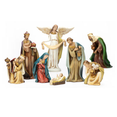 Joseph's Studio Ceramic Nativity 8 Piece Set