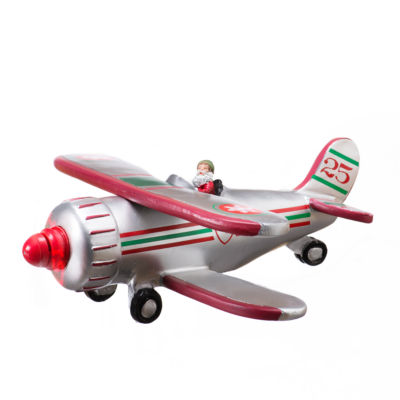 Roman Bi-Plane LED Propeller Figurine