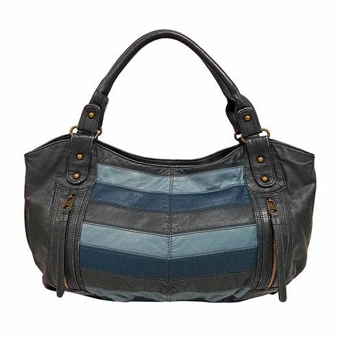 St. John's Bay Chevron Double Shoulder Bag