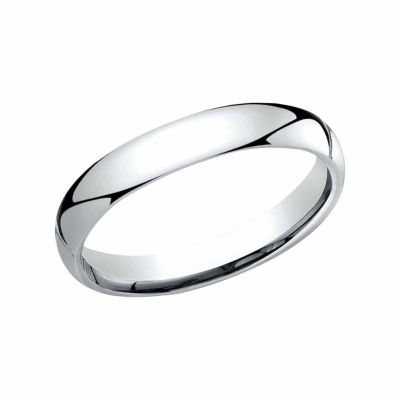 Womens 3 Mm Platinum Wedding Band
