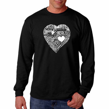 Love In 44 Different Languages Long Sleeve T-Shirt