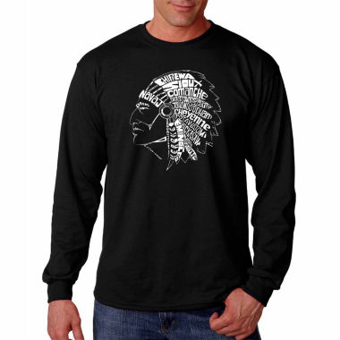 Popular Native American Indian Tribes Long SleeveT-Shirt