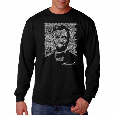 Abraham Lincoln Gettysburg Address Long Sleeve T-Shirt