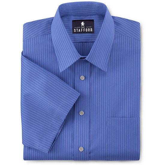 3d09e4ea Stafford Short Sleeve Easy Care Broadcloth Dress Shirt