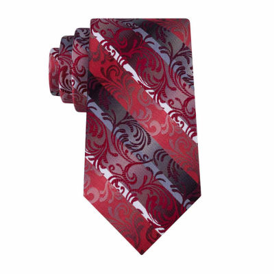 Van Heusen Flex Andrew Swirly Vines Tie