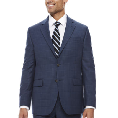 Stafford Plaid Classic Fit Suit Jacket