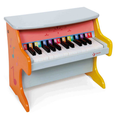 Wood Piano Musical Instrument