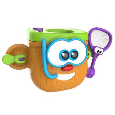 My Bath Time Fishing Basket-Bath Toy