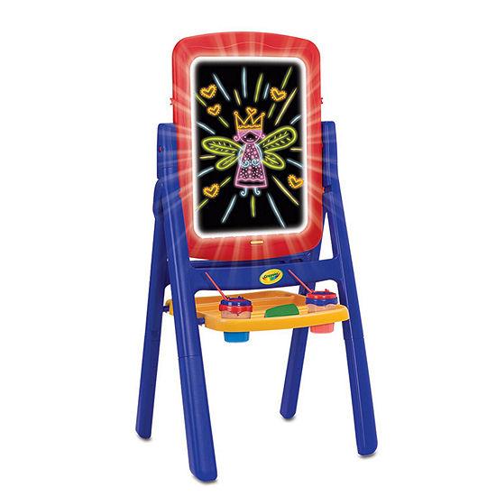 Crayola Grow 'N Up Qwikflip Kids Glow Easel