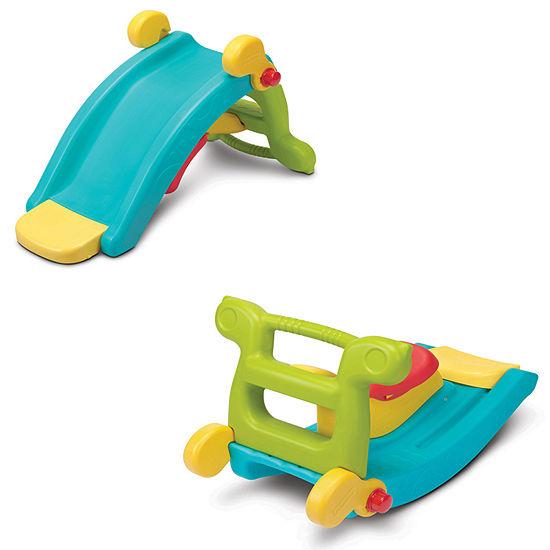Grow 'N Up Fun Slide N Rocker Seesaw