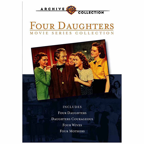 4 Daughters Movie Series Collection 4-Disc Set
