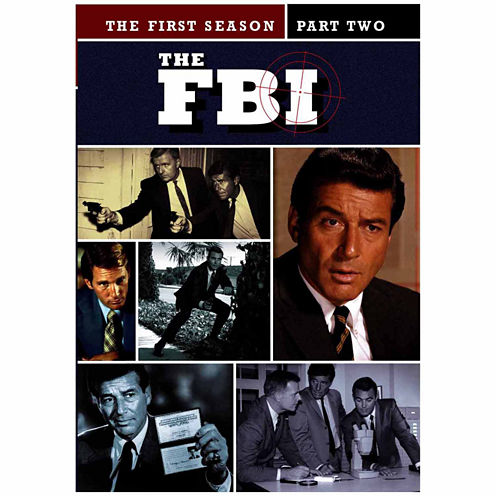 Fbi The First Season Part Two 4-Disc Set