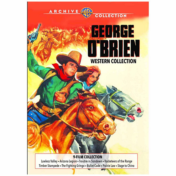 George O'Brien Western Collection 1938-1940 - 3 Discs - DVD