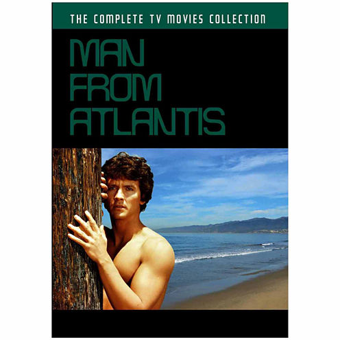Man From Atlantis: Complete TV Movies Collection - 2 Discs - DVD