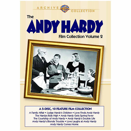 The Andy Hardy Film Collection Volume 2