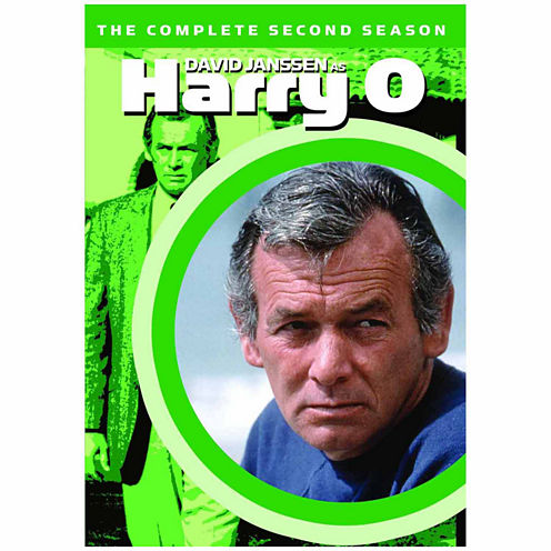 Harry O: The Complete Second Season - 6 Discs - DVD
