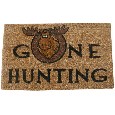 Gone Hunting Rectangular Doormat