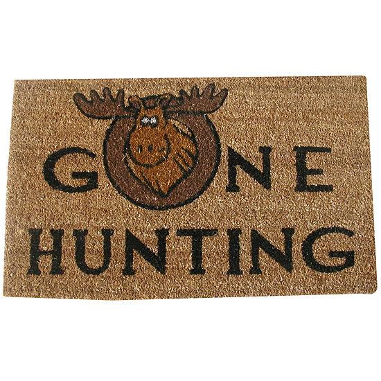 Gone Hunting Rectangular Doormat