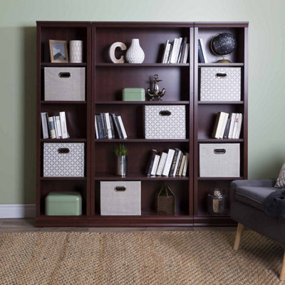 Morgan 5-Shelf Narrow Bookcase