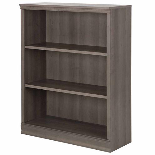 Morgan 3-Shelf Bookcase