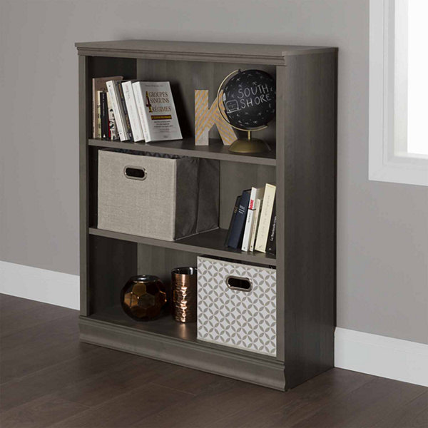 Morgan 3-Shelf Bookcase