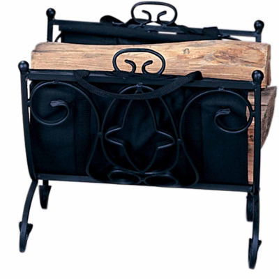 Heavy Weight Wrought Iron Log Rack