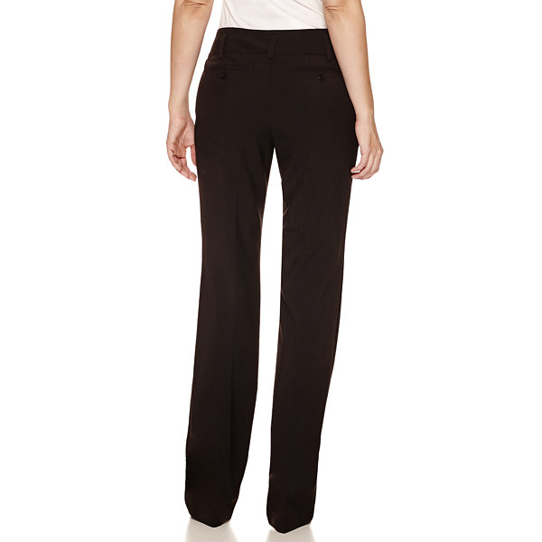 Worthington® Curvy-Fit Straight-Leg Pants